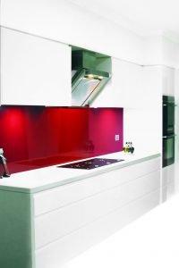 Monaco Metallic Kitchen Splashback